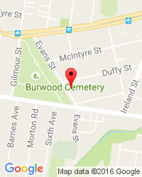 Google Map of 19 Even Street  Burwood, VIC 3125