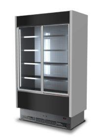 Wall Cabinet - Black 800 Depth